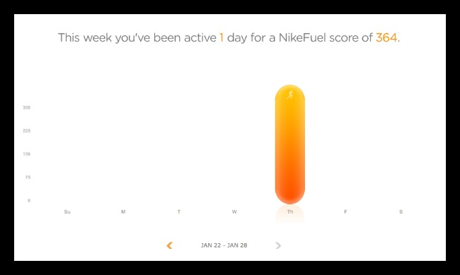 Nike Fuel Points