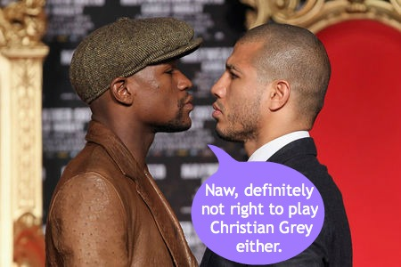 Mayweather and Cotto