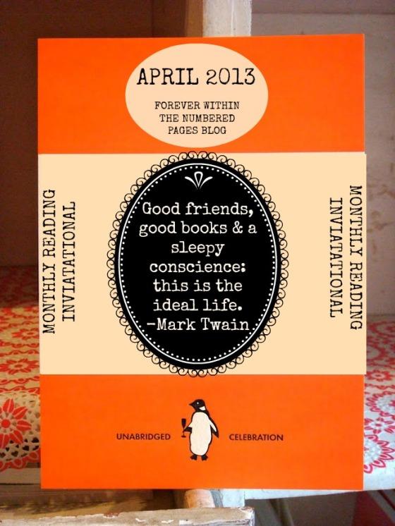 April Book Invitation