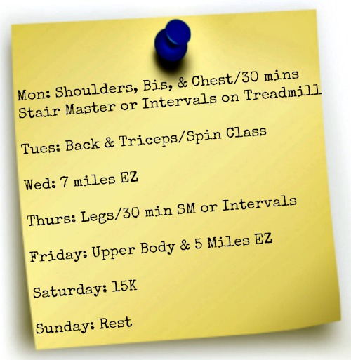 Workout 3-4-13
