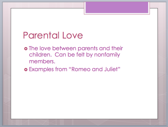 parental love in romeo and juliet