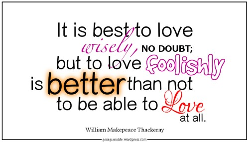 thackeray-infatuation-quote