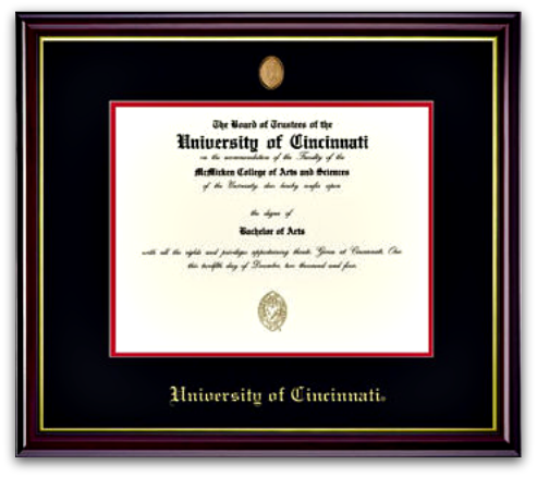 University Diploma Frame