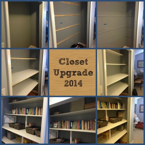 Closet Upgrade Collage