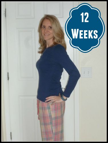 12 Weeks Blue Shirt