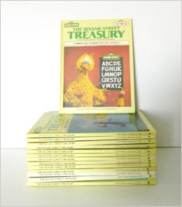I have the entire yellow-bound Sesame Street book collection.